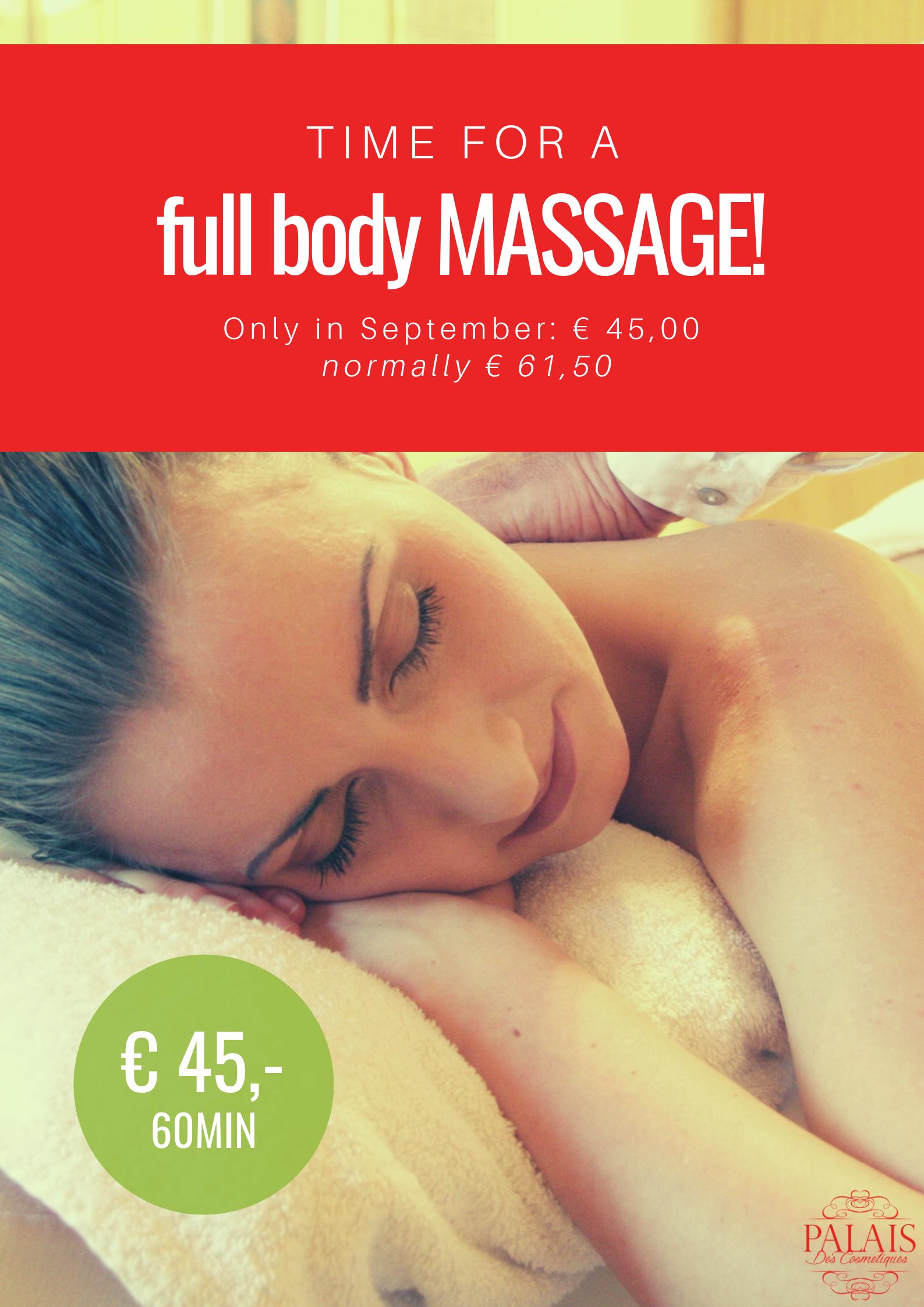 full body massage amstelveen